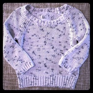 Cropped sweater American Eagle XS Speckled Pattern